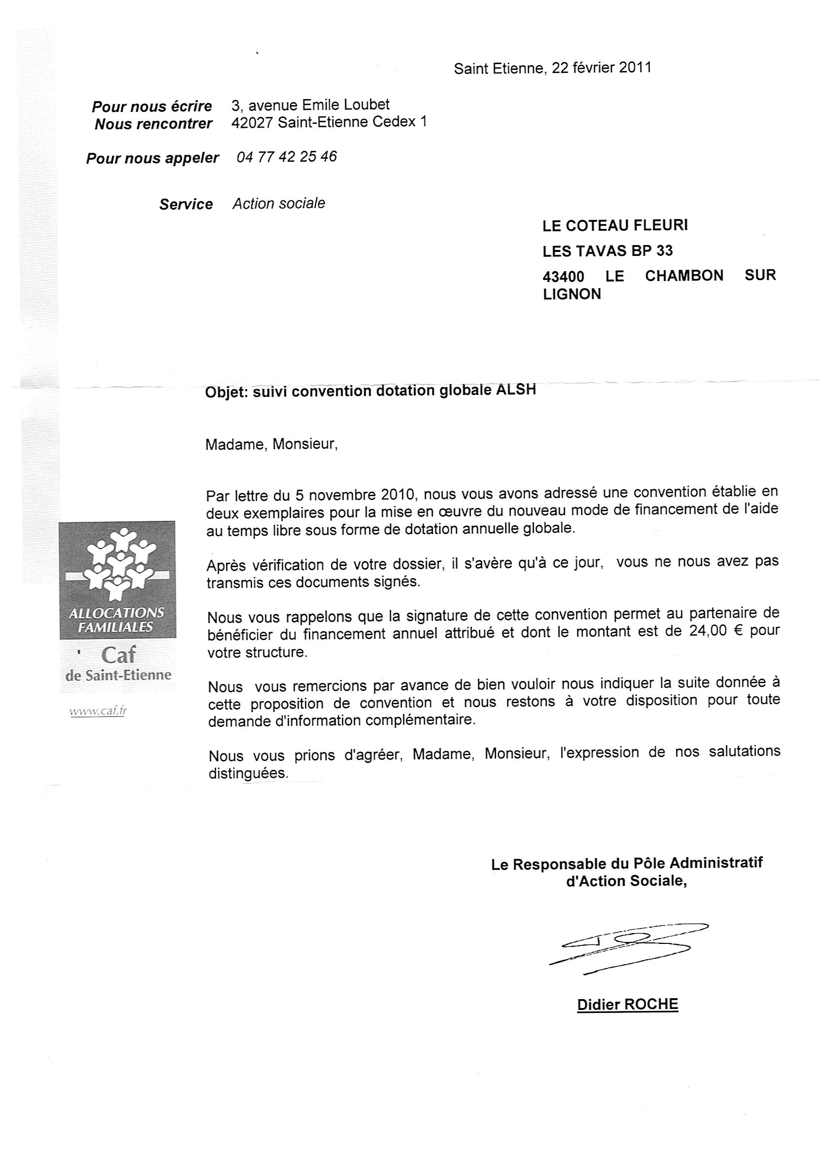 Image Courrier courrier caf 001